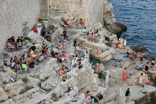 Comer en Dubrovnik