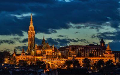 Anochecer en Budapest