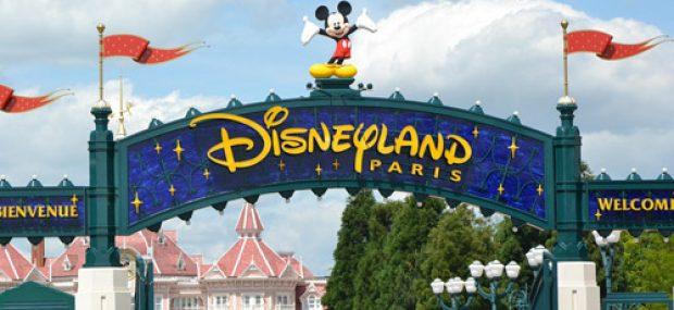 Entrada a Disneyland Par'is