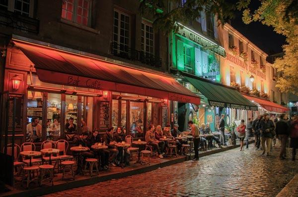 Cafetería de París