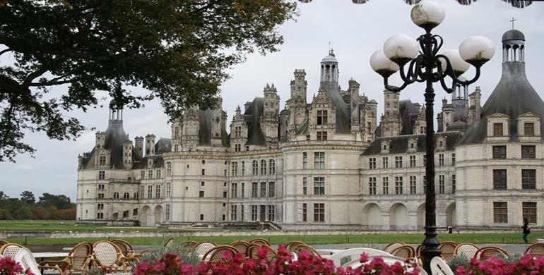 Castillo Chambord valle del Loira