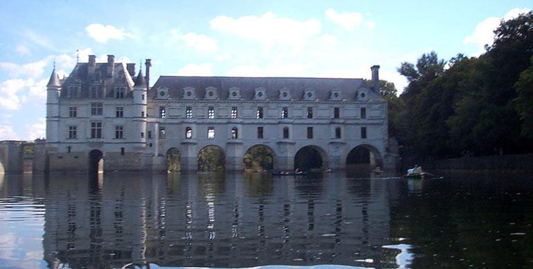 Castillo Chenonceau valle del Loira