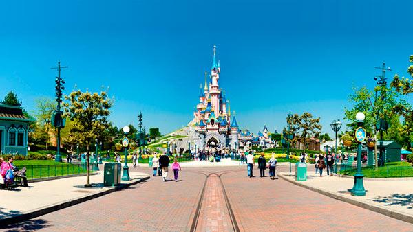 Castillo Disneyland París