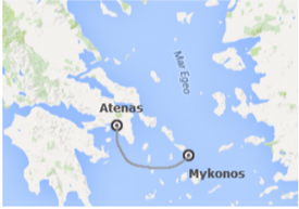 Circuito Atenas Mikonos