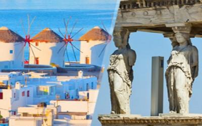 Viaje Combinado Atenas Mikonos