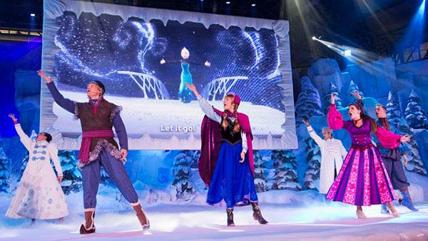 Musical Frozen en Disney