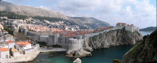 Panorámica de Dubrovnik