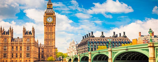 Foto del reloj de Londres