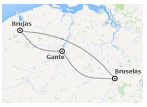 Combinado Bruselas Brujas Y Gante Viajando Por Europa