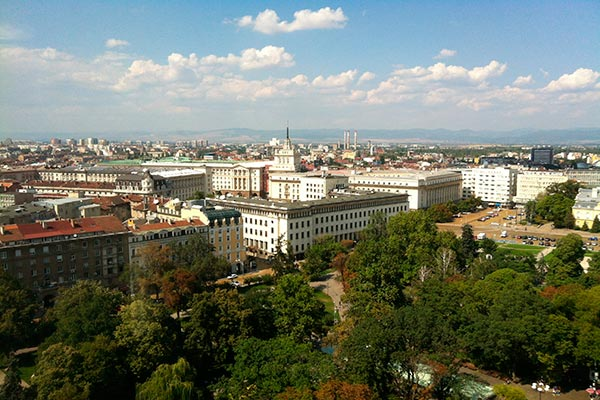 Sofía en Bulgaria